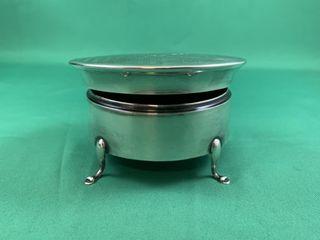 Vintage Sterling Silver Ellis   Co Footed Ring