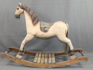 Vintage Child s Rocking Horse
