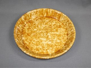 19th Century Bennington Pottery Pie Plate