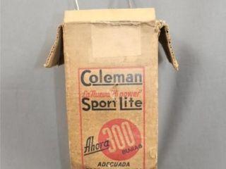 Coleman No 242B Sport lite lantern w Box