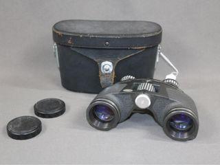 Cased Marquis Binoculars   Field Glasses