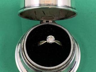 Vintage Birks Silver Regency Ring Box