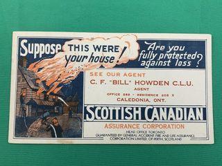 Vintage Scottish Canadian Assurance Corporation