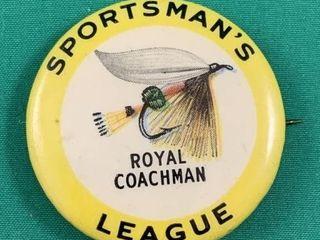 Sportsman s league Royal Coachman Fly Fishing Pin