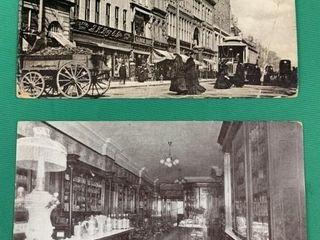 2 Vintage C1910 Toronto Ontario Photo Postcards