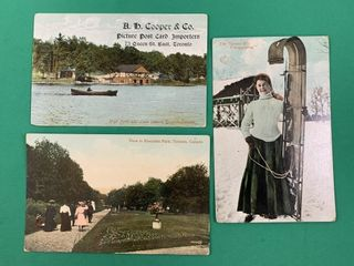 3 Toronto Ontario Vintage Postcards