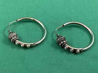 Sterling Silver Steampunk Earrings