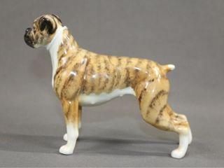 Beswick Brindle Coloured Boxer Figurine