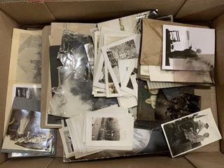 Box lot of Antique Photographs