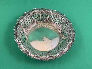 Vintage lambert Pierced Sterling Silver Trinket or