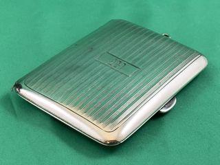 VIntage Sterling Silver Art Deco Cigarette Case