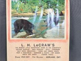 1968 Calendar le CRAWS DEPARTMENT STORE NORlAND