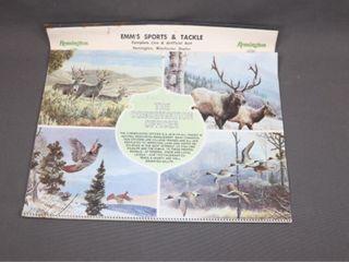 1979 Calendar EMM S SPORT   TACKlE lINDSAY