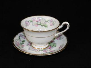 Royal Albert May Blossom Tea Cup and Saucer