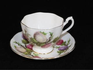 Collingwood England Tea Cup and Saucer