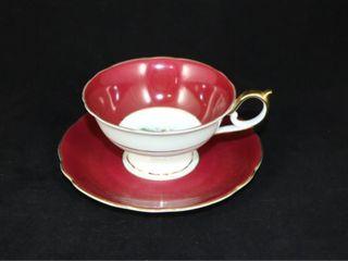 Royal Bayreuth Tea Cup and Saucer