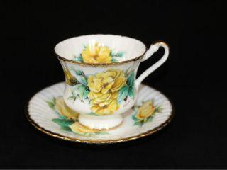 Signed Mitzi Rimosa Paragon Tea Cup and Saucer