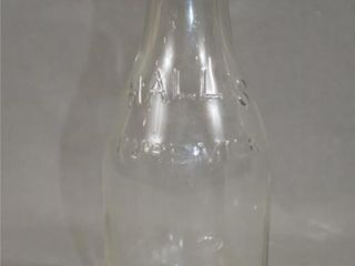 Halls Pure Milk Bottle
