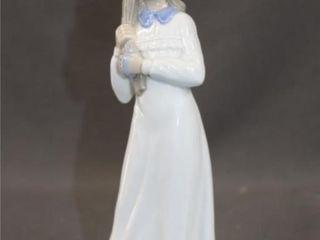 Tengra Valencia Spain Porcelain Figurine Girl
