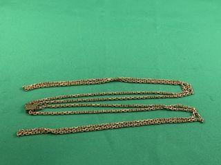 C1920 Gold Filled Sliding Chain