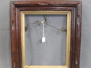 C1880 Carved Walnut Frame
