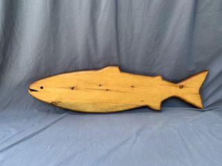 Pine Fish Plaque