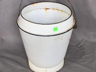 Porcelain Slop Pail