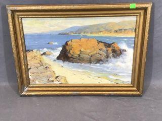 Ocean Scene Oil Painting