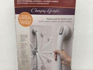 SAFE ER GRIP SWIVEl SHOWER HANDlE