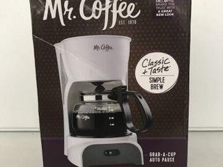MR  COFFEE 4 CUPS COFFEEMAKER