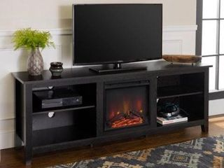 70 INCH  WAlKER EDISON FIREPlACE TV STAND