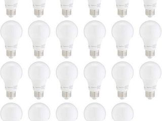23 PCS AMAZONBASICS 60W lED lIGHT BUlBS