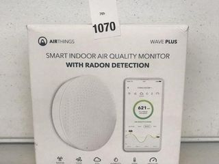 AIRTHINGS SMART INDOOR AIR QUAlITY MONITOR