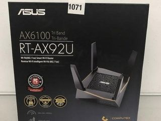 ASUS TRI BAND WIFI ROUTER