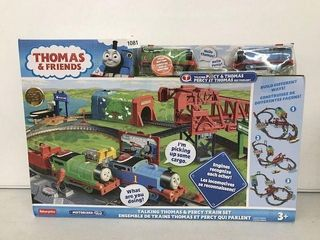 THOMAS   FRIENDS TAlKING THOMAS   PERCY TRAIN SET