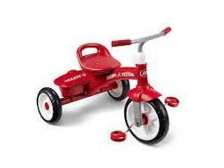 RED RIDER TRIKE MODEl 421Z FOR AGES 2 5 TO 5 YRS