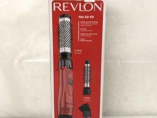 REVlON HOT AIR KIT 1 1 2  BRUSH