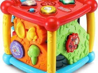 VTECH BUSY lEARNERS ACTIVITY CUBE  FRUSTRATION
