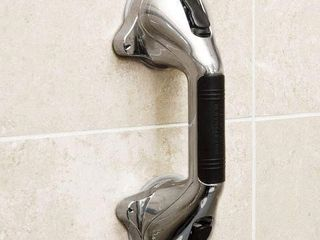 HEAlTHSMART SUCTION CUP GRAB BAR WITH GERM