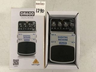 DR600 DIGITAl REVERB