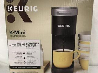 KEURIG K MINI SINGlE SERVE COFFEE MAKER