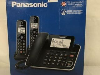 PANASONIC 2 IN 1 CORDED CORDlESS PHONE