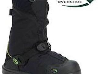 NEOS EXPlORER INSUlATED OVERSHOES SHOES IN BlACK