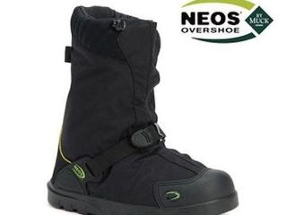 NEOS EXPlORER STABIlICER OVERSHOES IN BlACK SIZE
