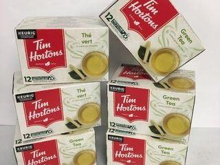 72 KEURIG K CUP PODS TIM HORTONS GREEN TEA BEST