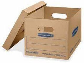 10 PCS  15 X 12 X 10 INCHES  BANKERS BOX