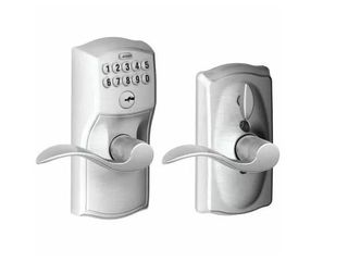 SCHlAGE FE595 CAM CAMElOT KEYPAD DOOR lOCK