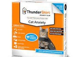 THUNDER SHIRT CAT ANXIETY SOlUTION