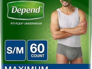 DEPEND FIT FlEX INCONTINENCE UNDERWEAR FOR MEN