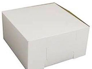 APPROX  60 PIECES 10 X10 X4  lC BAKERY BOXES